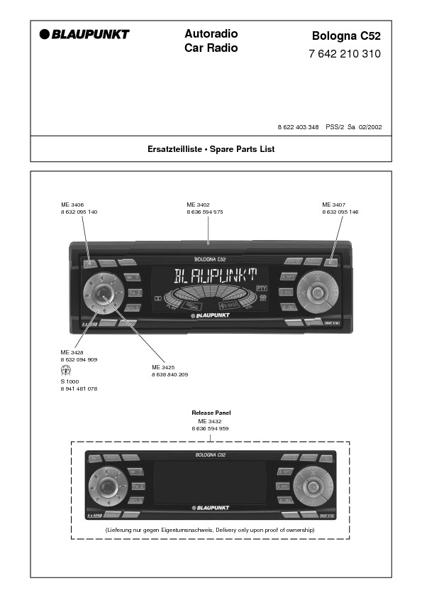 service manual for blaupunkt bologna c52 blaupunkt bologna c52 rh service diagrams com blaupunkt 520 car stereo manual blaupunkt car stereo installation manual