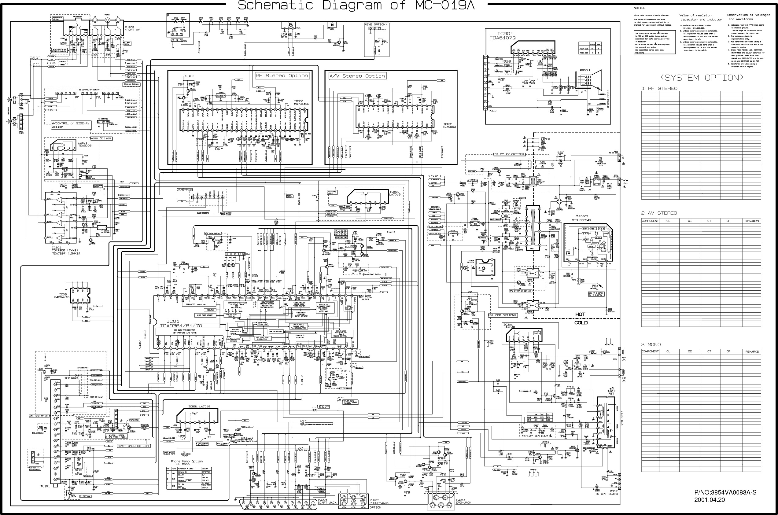 Lg Tv Diagram Archive Of Automotive Wiring Ac Dpdt Ladder Service Manual For Mc 019a Schematics Datasheets Rh Diagrams Com
