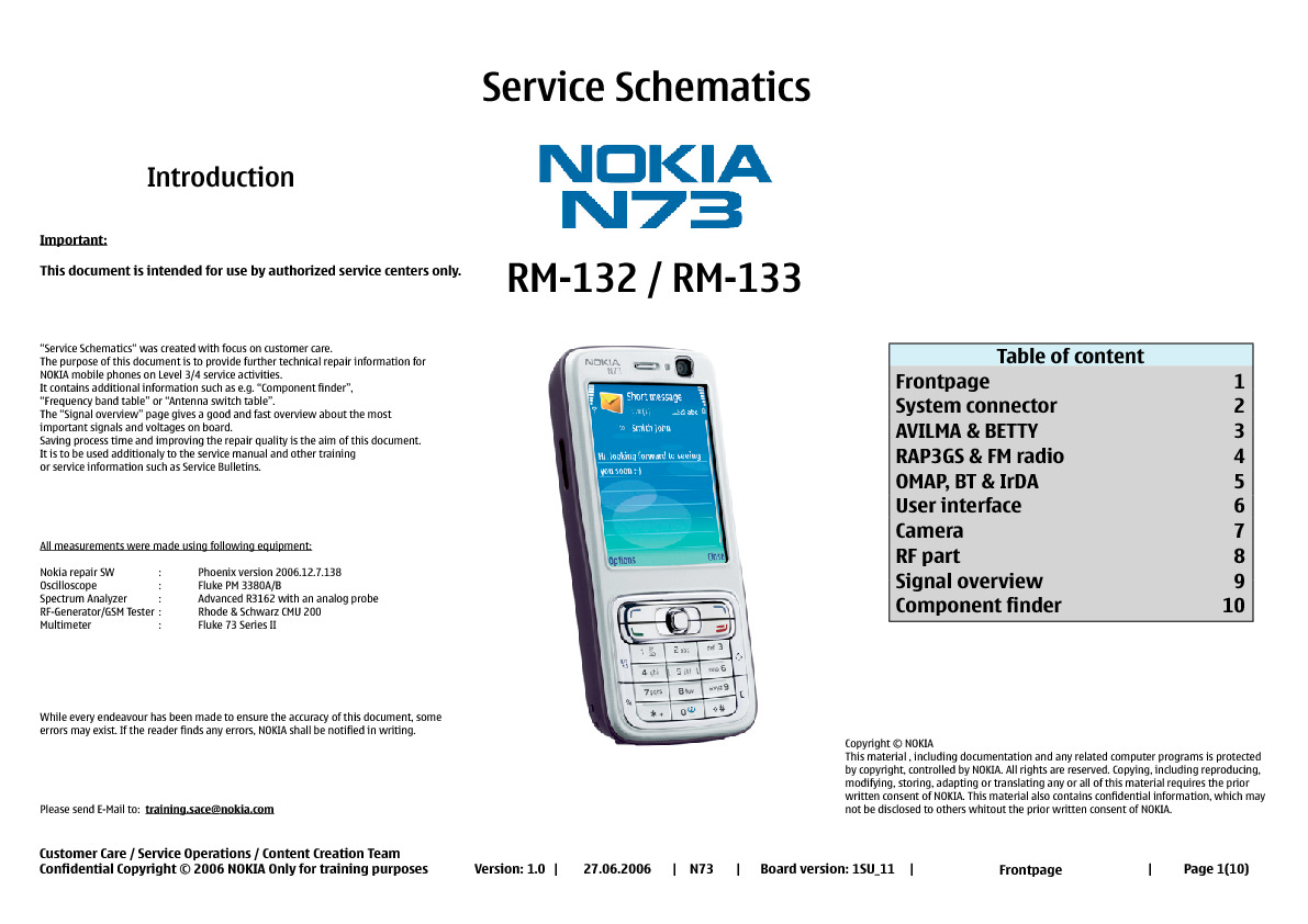 service manual for nokia n73 n73 schematics schematics datasheets rh service diagrams com Nokia N70 nokia n73 schematics download